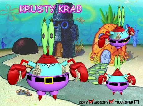 [Antic cartoon]Krusty Crab Avatar