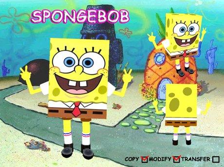 [Antic cartoon]SpongeBob Avatar