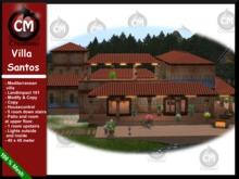 !CM Creations, Villa Santos, mediterranean villa