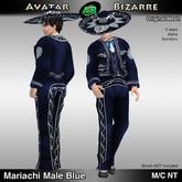 AB Mariachi Male Blue