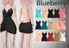 Blueberry Kayden - Maitreya / Belleza / Slink - Fat Pack