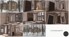 Scarlet Creative Lavender Brown - Large Mesh Mansion
