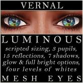 Mayfly - Luminous - Mesh Eyes (Vernal)