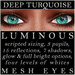 Mayfly   luminous   mesh eyes %28deep turquoise%29