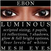 Mayfly - Luminous - Mesh Eyes (Ebon)