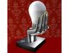 Advert   handy lamp silver extra