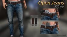 INVICTUS -  Open Jeans / dark
