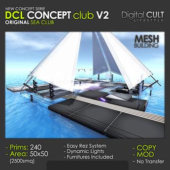 DCL Concept Club V2 Original Sea Club