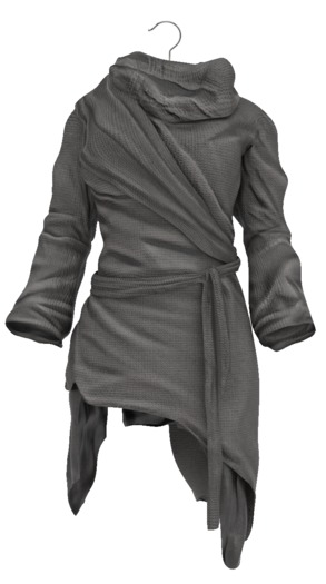 !APHORISM! End Of Days Tunic - Grey