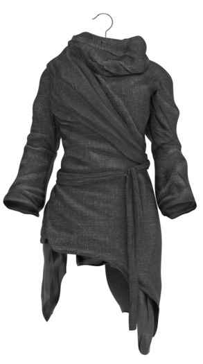 !APHORISM! End Of Days Tunic - Black