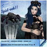 ~silentsparrow~ (Black) Spid-eek Pet Spiders
