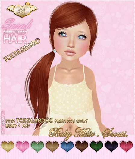 :*BABY*: Hair Sarah - ToddleeDoo - Scouts