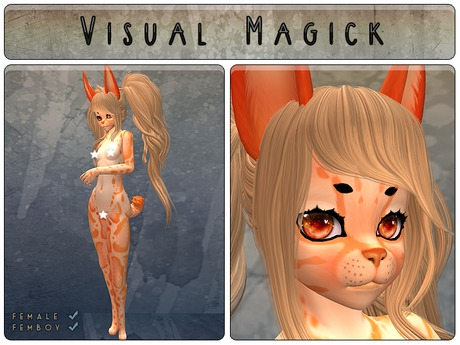 .: Visual Magick :. Clouded Leopard Mod (Dreamsicle)
