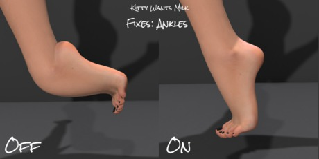 Fix Your Mesh Feet, Eyes, Hands & More! (Ankle Lock & More!!!)