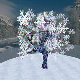 Blinking Winter Tree (ONLY 1 PRIM!!!)