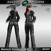 AB Mariachi Female Black