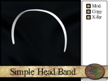 >^OeC^< Findings - Head Band (medium)(box)