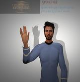 Variposa Spock pose - SLink Hands compatible!