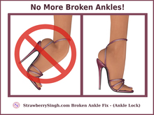 StrawberrySingh.com Broken Ankle Fix - Ankle Lock