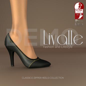 {Livalle} Classico -Zipper Heels- Demo