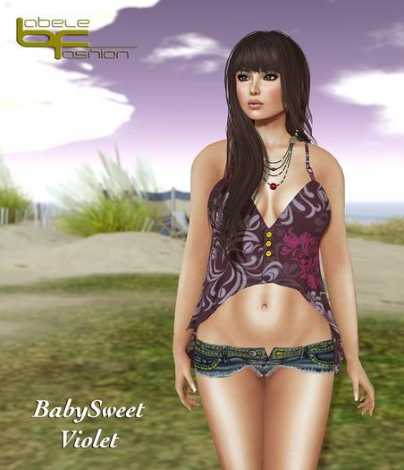 Babele Fashion :: BabySweet Violet