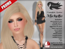 Tameless Complete Female Avatar Michelle (appliers for Slink hands and feet)