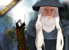 Wizard magician Gandalf