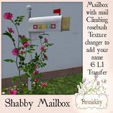 Shabby Mailbox (Boxed)