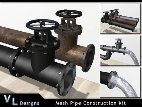 Modular Mesh Pipe Kit - Builders Edition - Full Perm