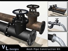Modular Mesh Pipe Kit - Builders Edition - Full Perm