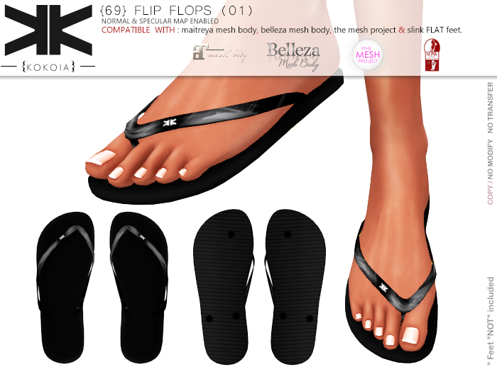 (69) sixtynine flip flops (01) :: {kokoia}