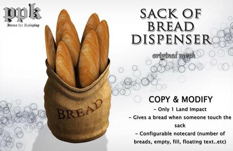 PPK Sack of Bread dispenser 2.0 Mesh