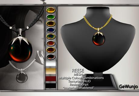 GeWunjo : REESE necklace