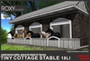 .:ROXY:. tiny cottage stable ( MESH )