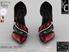 ".:KC:. SINSUAL Heels - ""RED"" - 6 Strap Colors / 2 Metal Options / 100% Original"