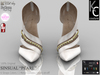 ".:KC:. SINSUAL Heels - ""PEARL"" - 6 Strap Colors / 2 Metal Options / 100% Original"