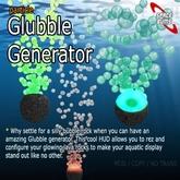 Glubble Generator (Under water bubble maker)