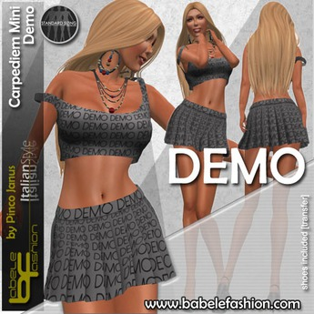 Babele Fashion :: Carpediem Mini Demo