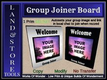 Group Joiner Board -Mesh-