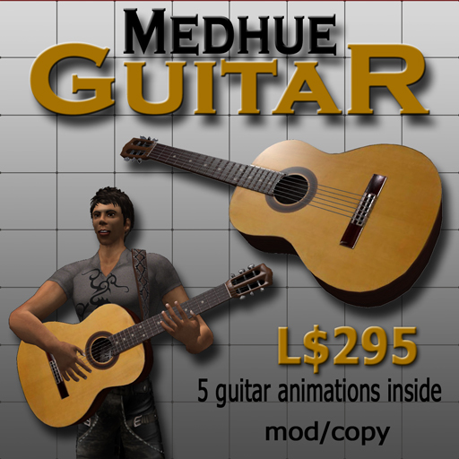 Medhue Guitar - with animations