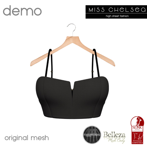.miss chelsea. DEMO Bralet CLEARANCE