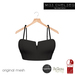 .miss chelsea. Bralet Black CLEARANCE