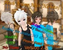 [K Z S] Anime.Hair [Haruto] Ver 2.5