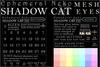 Ephemeral neko   shadow cat mesh eyes hud