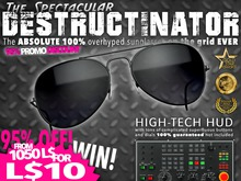 THE DESTRUCTINATOR - 95% PROMO DISCOUNT - NOT A DEMO!