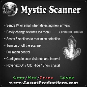 Mystic Pod Scanner