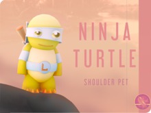 Ninja Turtle - Shoulder Pet