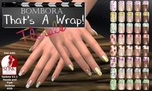 :{Bombora}: That's A Wrap! Florals Slink Mani & Pedi HUD