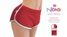 {Nena} Gym Shorts - Colors