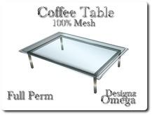 Coffee Table 100% Mesh Full Perm